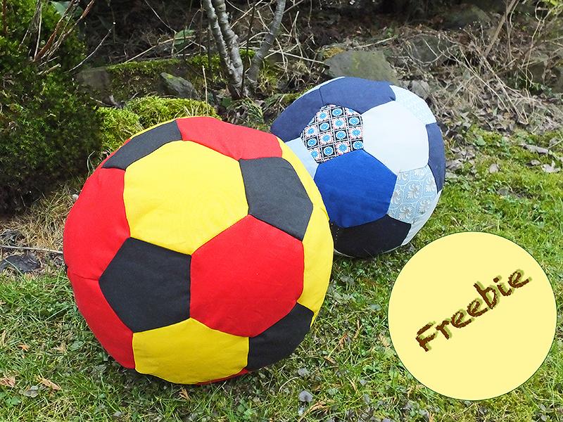 Schnittmuster Fußball – DIY-4U