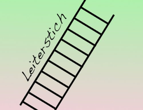 Tutorial: Leiterstich / Matratzenstich