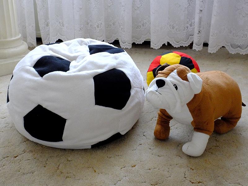 Schnittmuster: Fußball-Kissen – DIY-4U