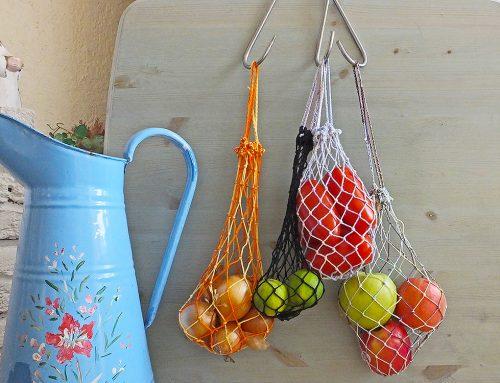 Praktisches Netz für Obst, Gemüse und Nüsse