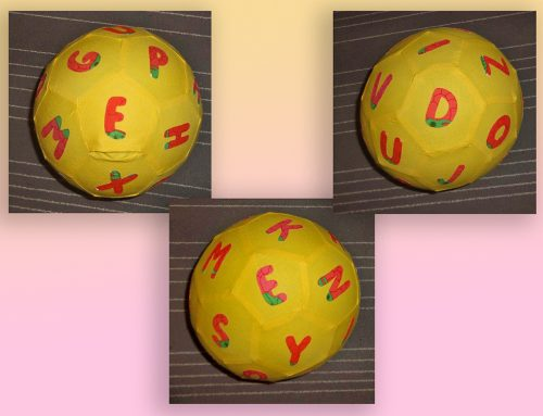 Gastbeitrag: Luftballonhülle Buchstabenball