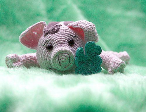 Amigurumi Glücksschwein Häkelanleitung Schwein