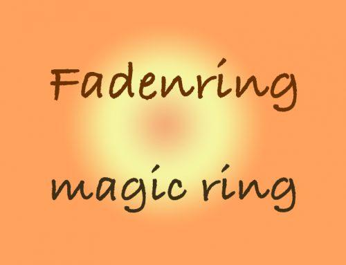 Häkel Tutorial: Fadenring – magic ring