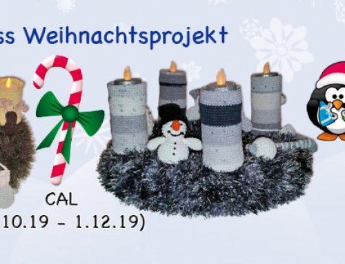Weihnachtskranz CAL auf Facebook
