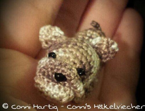 Anleitung Mini Bulldogge / free pattern bulldog