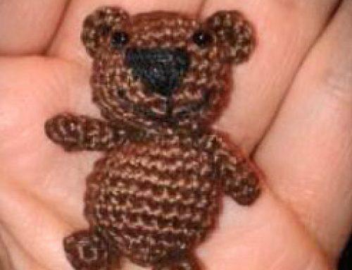 Häkelanleitung Freebook Mini-Teddy von Conni Hartig